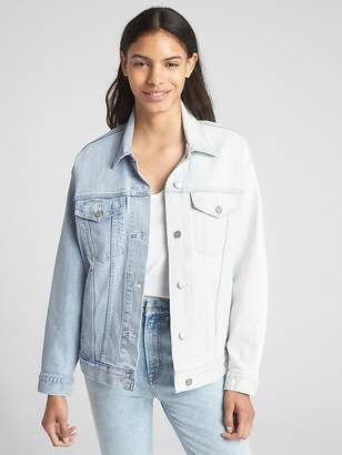 Gap Icon Spliced Denim Jacket