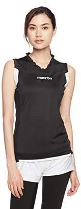 Columbia (コロンビア) - (マクロン) macron バレーボールウェア XENON ウィメンズ SL ゲームシャツ 2046 [レディーズ] 2046 0901 ブラックxホワイト S