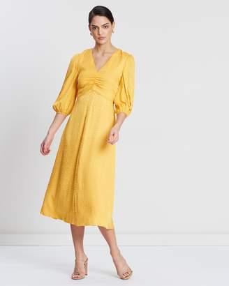 8a6381143014 Rebecca Vallance Yellow Dresses - ShopStyle Australia