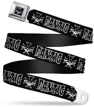 Buckle-Down Men's Seatbelt Belt Danzig Regular