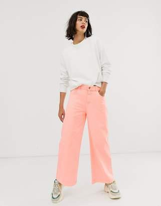 Essentiel Antwerp wide coloured jeans