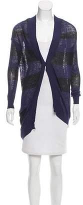 VPL Striped Linen Cardigan