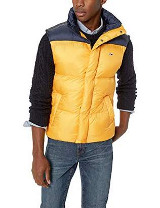 Tommy Hilfiger Tommy Jeans Men's Vest with Down Fill Classics Collection