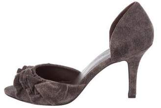 Elizabeth and James Ruffle d'Orsay Sandals
