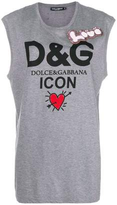 Dolce & Gabbana (ドルチェ & ガッバーナ) - Dolce & Gabbana ロゴTシャツ