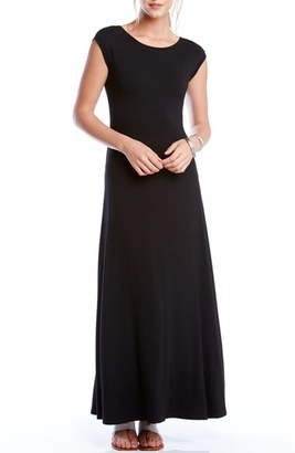 Women's Karen Kane V-Back A-Line Maxi Dress $119 thestylecure.com