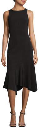 Jay Godfrey Jay By Frilled Hem Knee-Length Dress