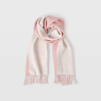 Club Monaco Thisbee Wool Colorblock Scarf