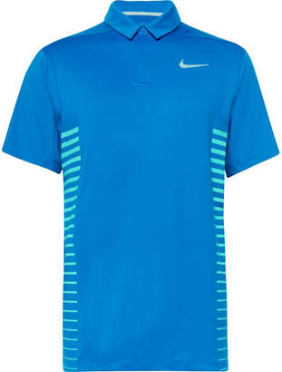 Nike Dry Striped Dri-Fit Golf Polo Shirt