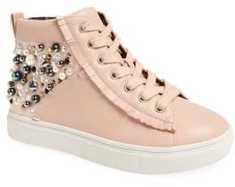 Steve Madden Hybrid Embellished High Top Sneaker
