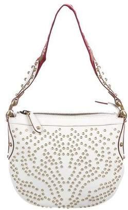 Gucci Grommet Embellished Mini Pelham Bag