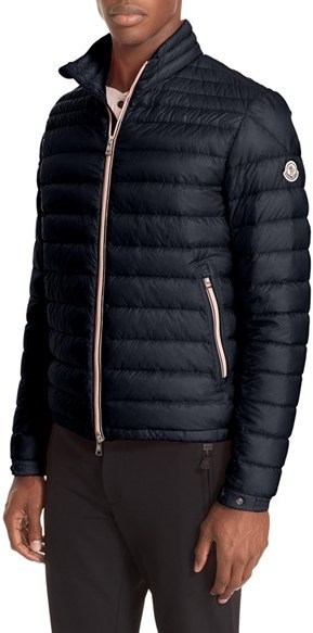 Men's Moncler Daniel Channel Quilted Down Jacket