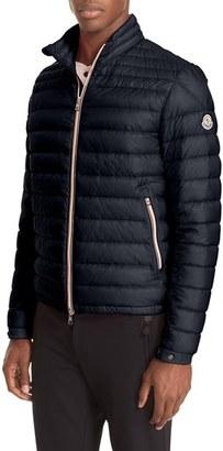 Men's Moncler Daniel Channel Quilted Down Jacket $850 thestylecure.com