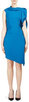 Roland Mouret Arundel Asymmetric Dress