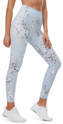 Fenix All Lilac Field Printed Performance Leggings