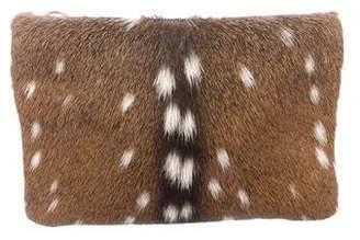 Proenza Schouler Deer Chieko Clutch
