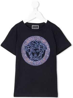 Versace embellished Medusa logo T-shirt