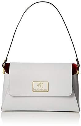 Braccialini Women's B12222 Shoulder Bag White
