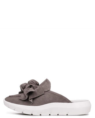 Jeffrey Campbell Taupe Sneaker Mule