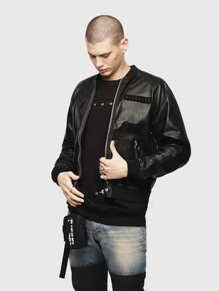 Diesel Leather jackets 0EATR - Black - S