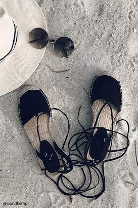 Forever 21 Lace-Up Espadrilles
