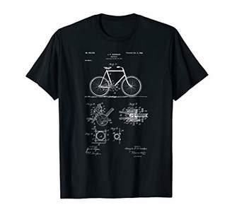 Vintage Patent Print 1900 Bicycle Cycling T-Shirt