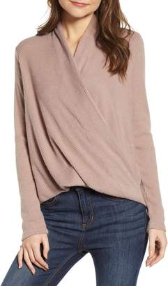CODEXMODE Faux Wrap Sweater