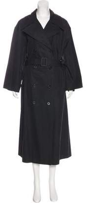 Chanel Double-Breasted Trench Coat