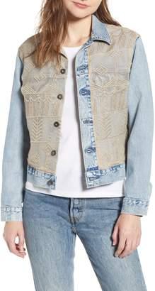 Levi's TM) Boyfriend Denim Trucker Jacket
