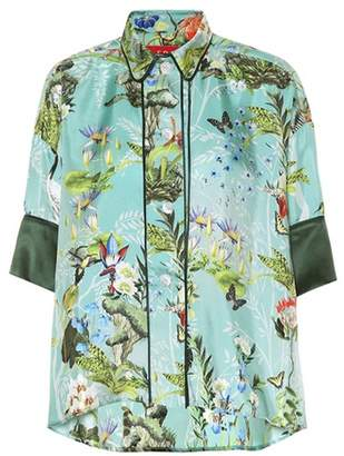 F.R.S For Restless Sleepers Printed silk blouse