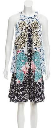 Stella McCartney Embroidered Sleeveless Dress w/ Tags