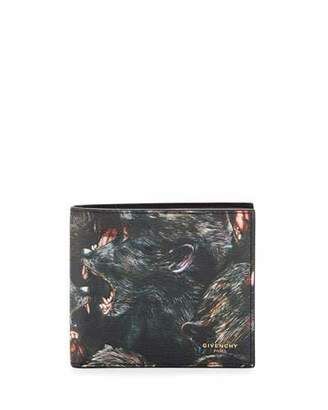 Givenchy Monkey Brothers Bifold Wallet $395 thestylecure.com