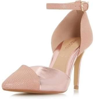 Dorothy Perkins Womens *Head Over Heels By Dune Pink 'Cersey' Ladies Shoes