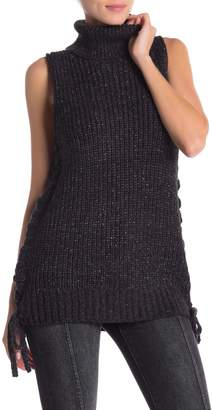Kersh & Press Sleeveless Knit Turtleneck Sweater