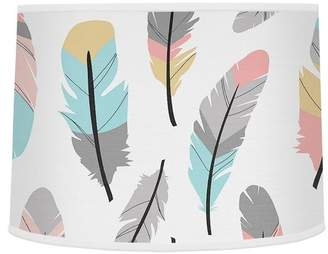 "JoJo Designs Sweet Feather 10"" Drum Lamp Shade"