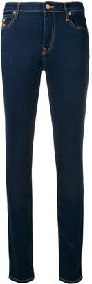 Vivienne Westwood embroidered logo skinny jeans