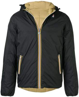 K-Way reversible down jacket