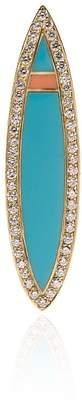 Tara Hirshberg Malibu diamond gun board pendant