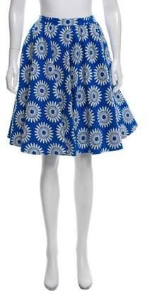 Alice + Olivia A-Line Knee-Length Skirt