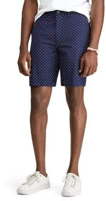 Polo Ralph Lauren Men's Polka Dot Stretch Military Shorts - Navy - Size 33