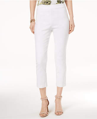 INC International Concepts I.n.c. Ruffled Capri Pants, Created for Macy's
