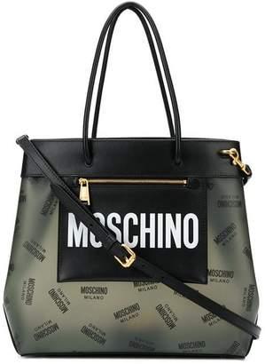 Moschino medium logo shopper bag