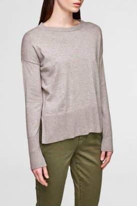 White + Warren Cotton-Silk Blend Sweater