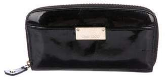 Jimmy Choo Patent Leather Wallet