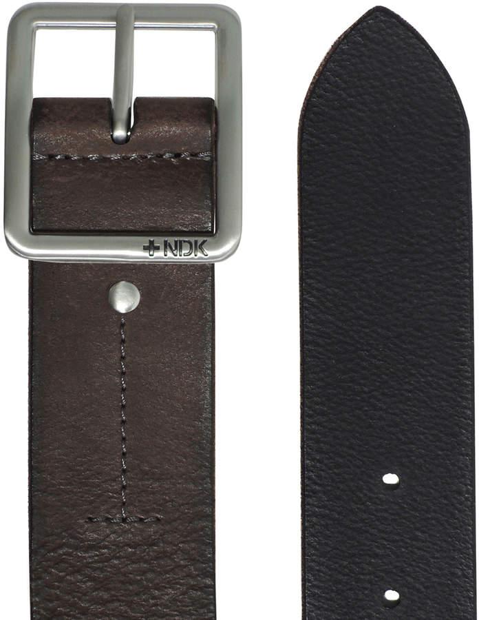 Nutmeg 32'' Cosmopolitan Rugged Reversible Leather Belt