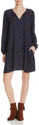 BeachLunchLounge Multi Dot Peasant Dress - 100% Exclusive $68 thestylecure.com