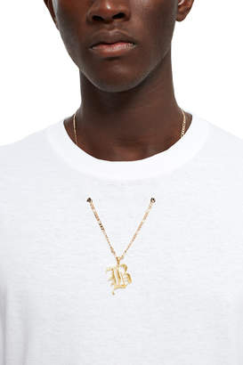 Barragán White B Pendant Graphic Tee
