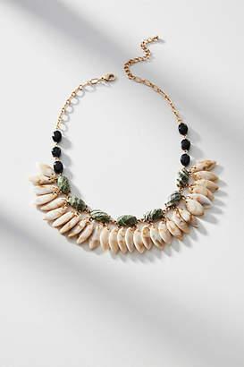 Anthropologie Fluttering Leaves Bib Necklace