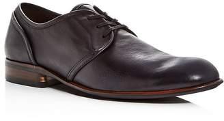 John Varvatos Men's Seagher Leather Plain-Toe Oxfords