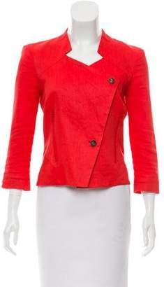 Helmut Lang Structured Linen Jacket